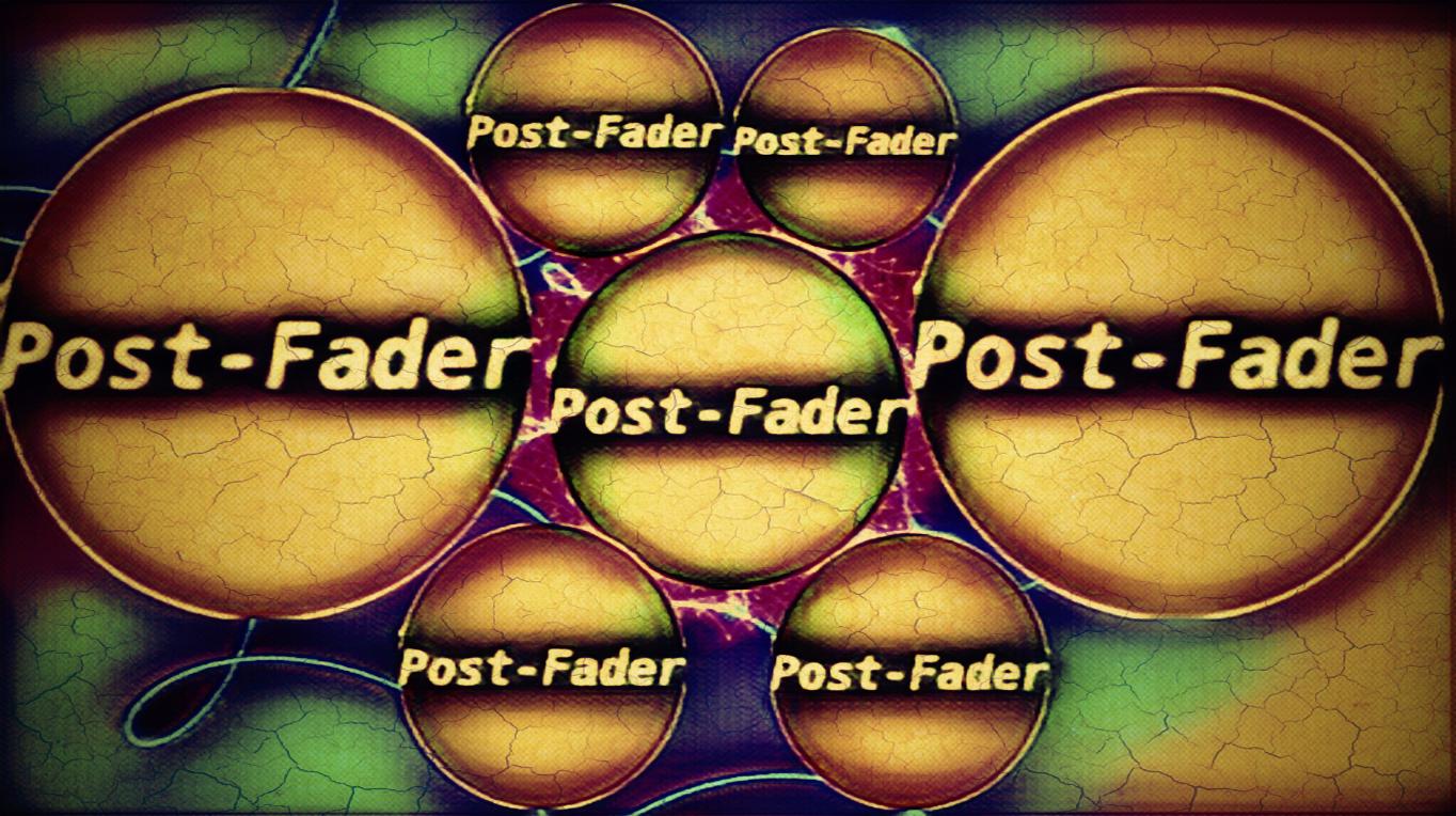 POST-FADER Planets Logo