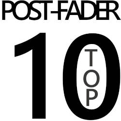 postfader top 10 list logo