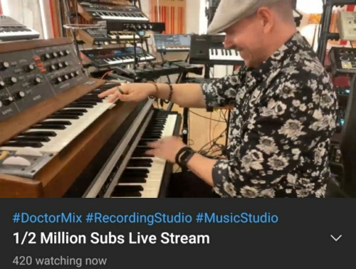 Doctor Mix 1/2 Million Subs Live Stream